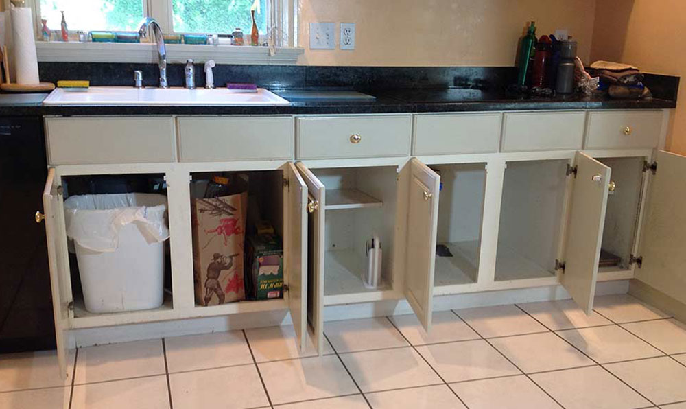 Before Lower Cabinets