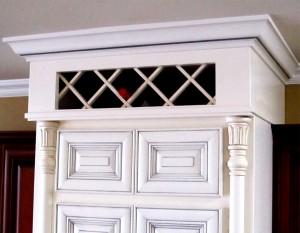 Upper Wine Cabinet
