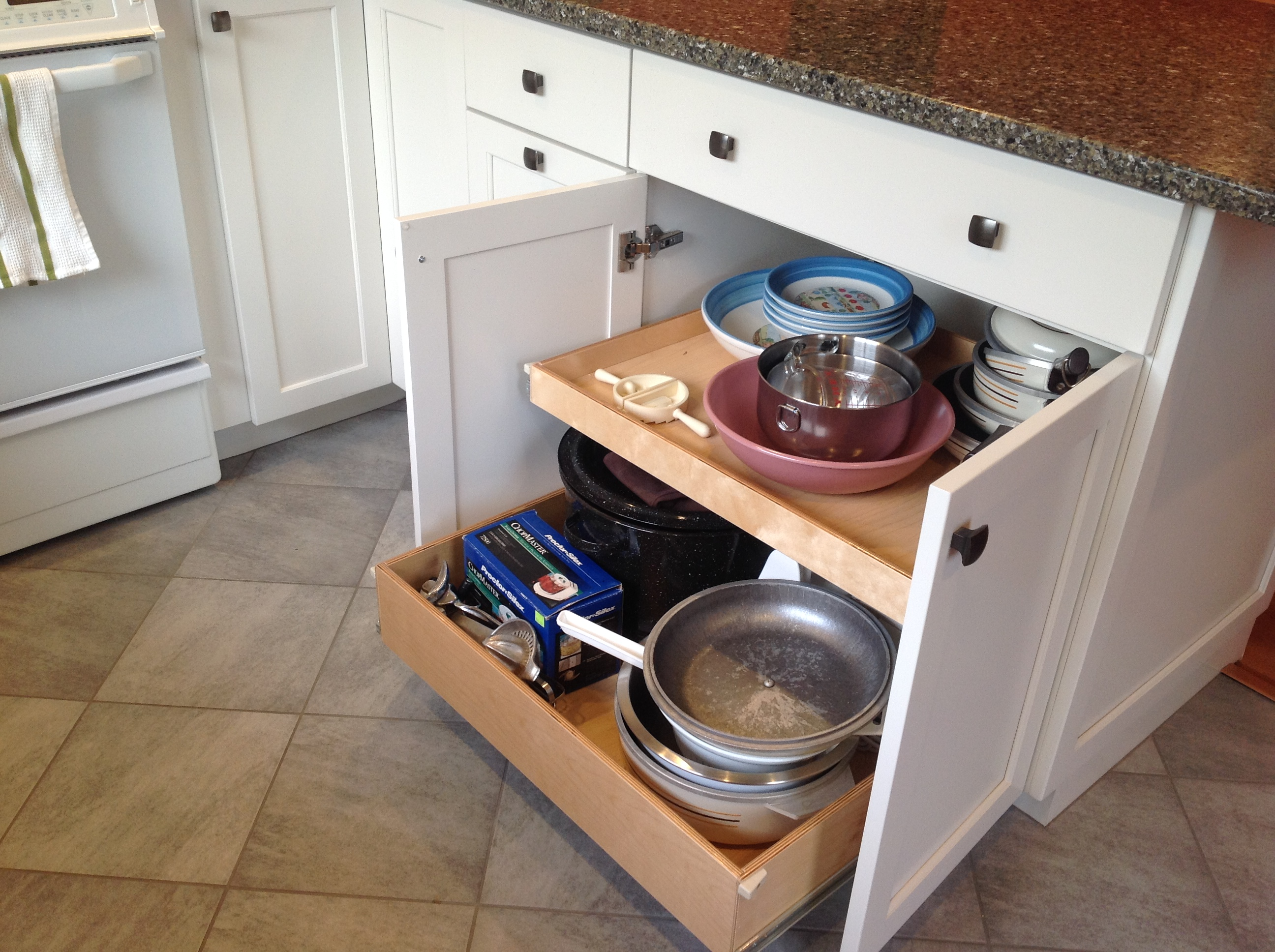 pull out drawers boston cabinet cures