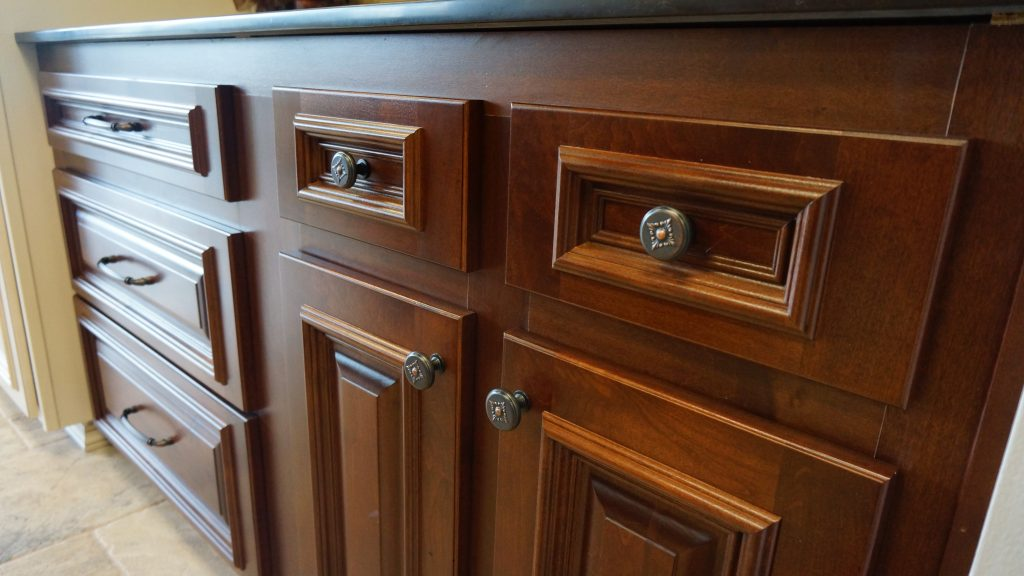 brown stained cabinet doors and drawers boston cabinet cures