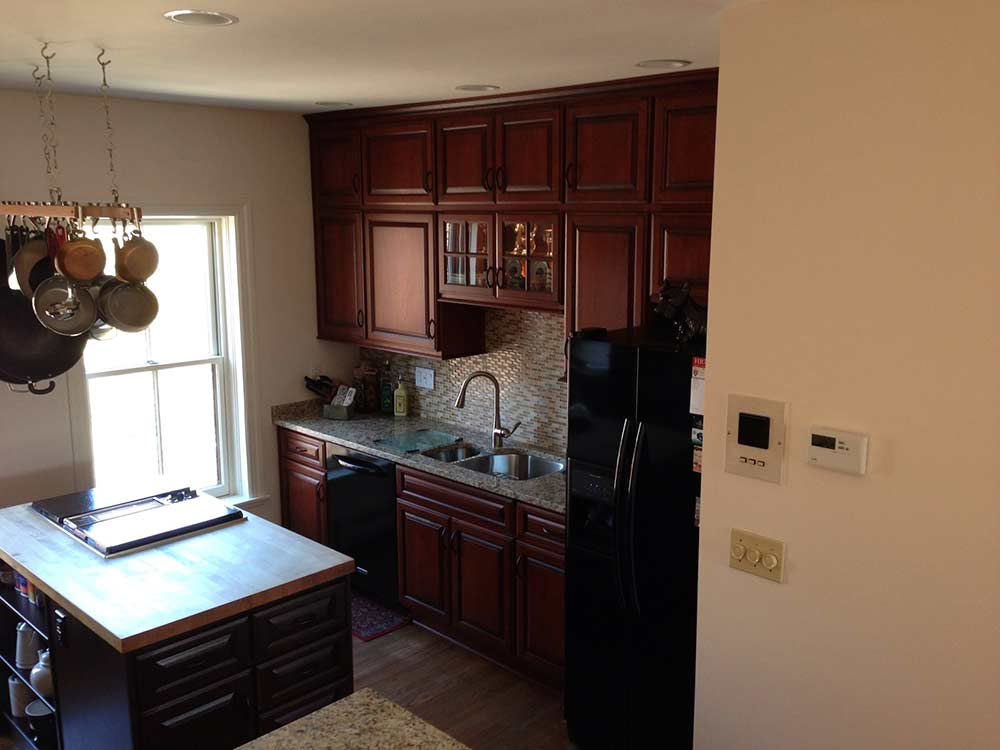 cherry stained kitchen cabinets boston cabinet cures