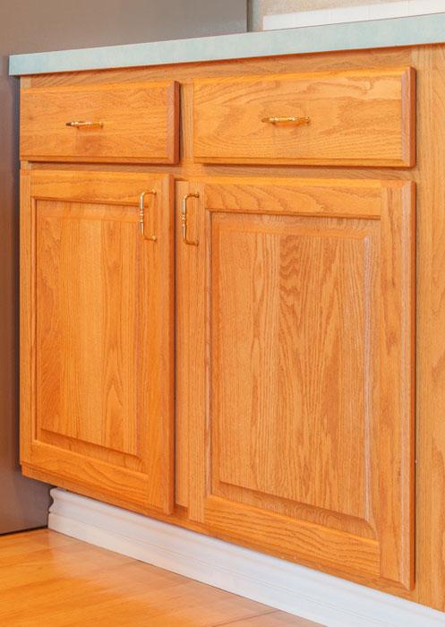 door to drawer before