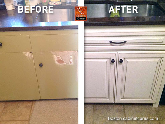 How To Prepare For Cabinet Refacing Cabinet Cures Of Boston