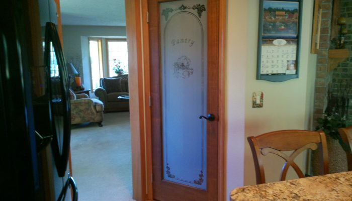 frosted glass kitchen pantry door boston cabinet cures