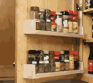storage spice rack