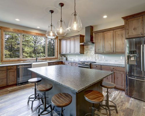 Craftman Style Kitchen by Boston Cabinet Cures
