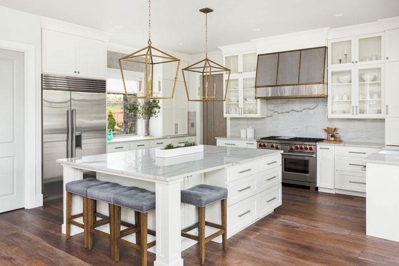 Minimalist Style Kitchen by Boston Cabinet Cures